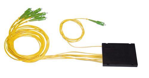 Fiber optic cabling system > Connectivity > Passive splitters > PLC ...